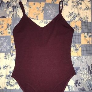 Forever 21 Plum Body Suit